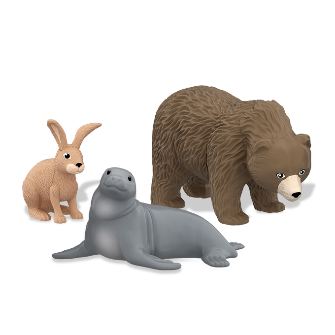 Le sorpresine Animal Planet