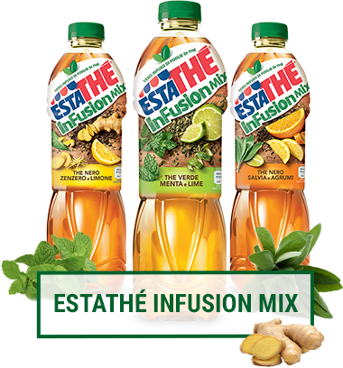 Scopri i nuovi gusti Estathè Infusion Mix