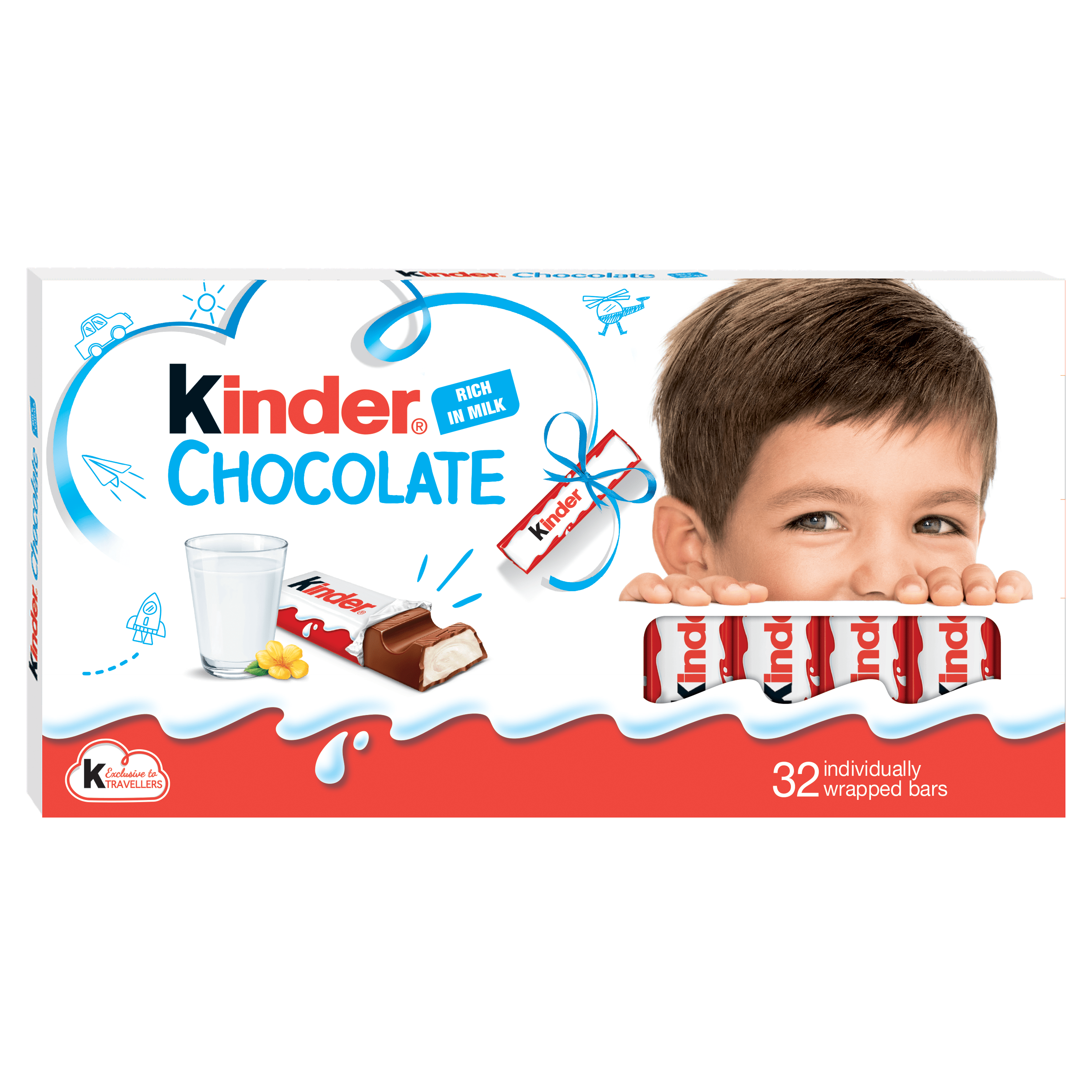 KINDER CHOCOLATE T(8X4)