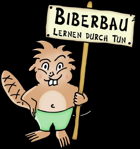 Logo Biberbau - Lernen durch Tun