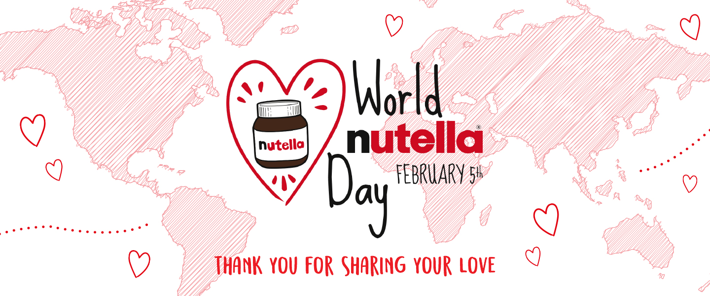 World Nutella Day Parfum Mobil Karakter Line 1st Edition Thanks