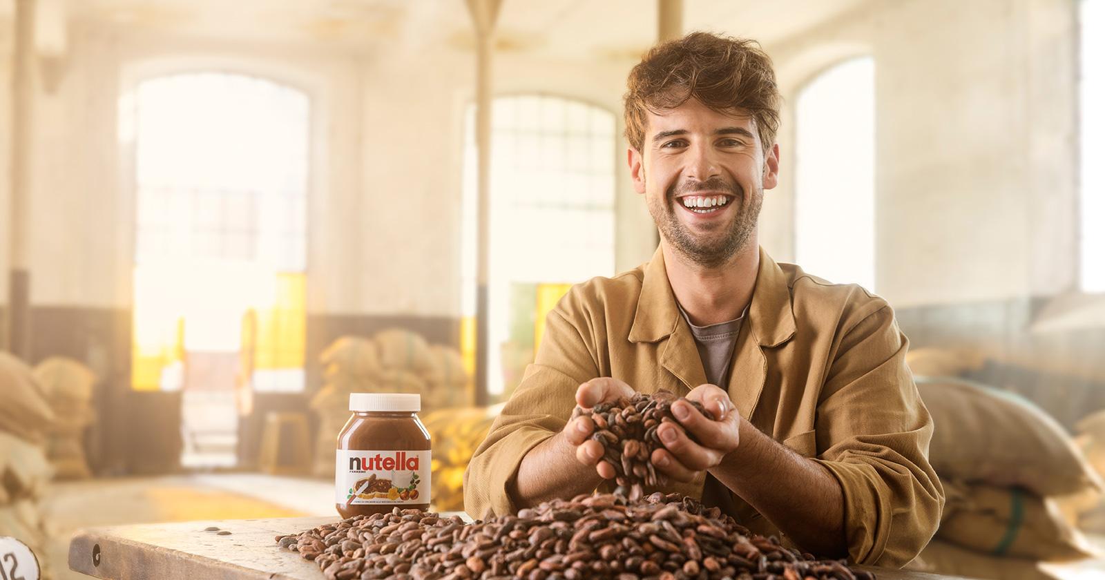 Controllo standard di qualità delle fave di cacao.