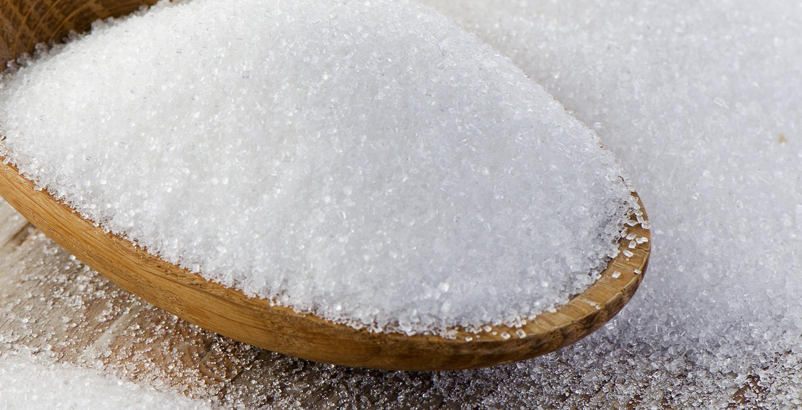 Cristalli perfetti dello zucchero.